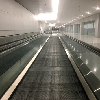 Deserted Miami Airport