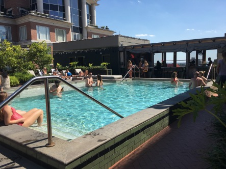 ACE hotel in trendy warehouse district