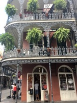 And of course the typical French Quarter houses
