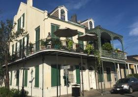 French Quarter mansions