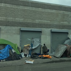 6th homeless tents